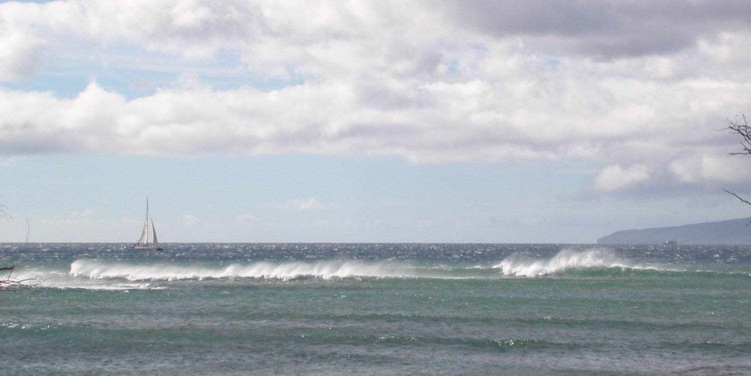 seedicksurf.com - Daily Hot shot-Sat am on the southern facing shores continue to have a small swell running..  stronger winds today, but still good fun!!!